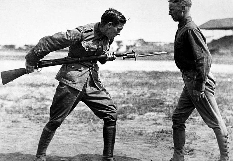 Bayonet Practice (PD)