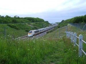 Eurostar by Clem Rutter-Rochester-Kent