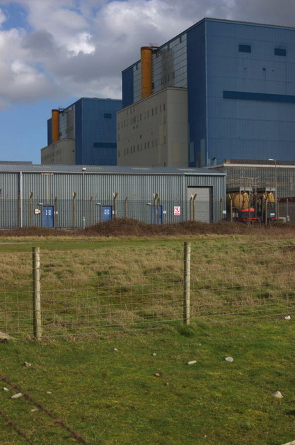 Hinkley Point A by Adrian Boliston