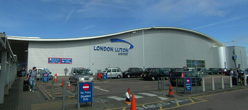 Luton Airport by Steff