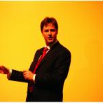 Nick Clegg by David Spender