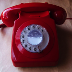 Red Telephone by Diamondmagna
