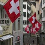 Swiss Flags by Elwood j blues