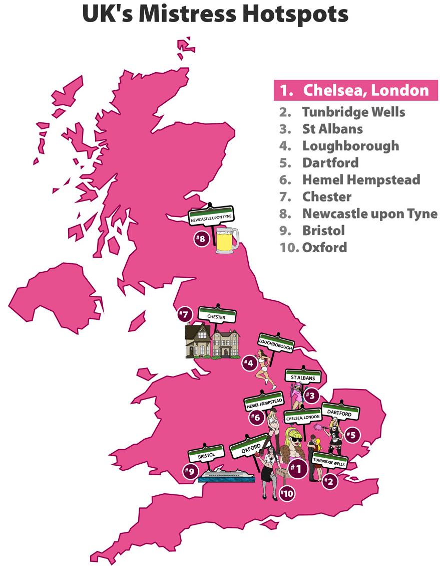 UK Mistress Hotspots