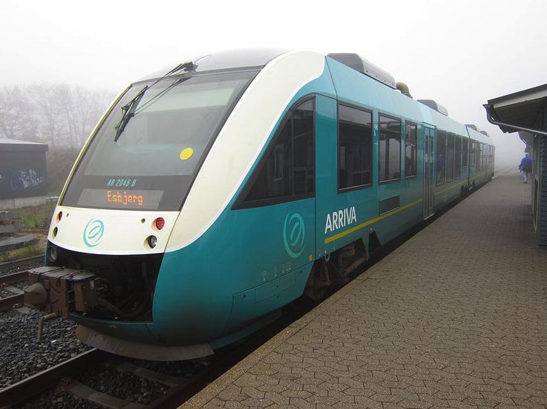 Arriva Train via Wikimedia Commons