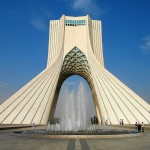 Azadi Tower Tehran Iran by Iraninafilmstar