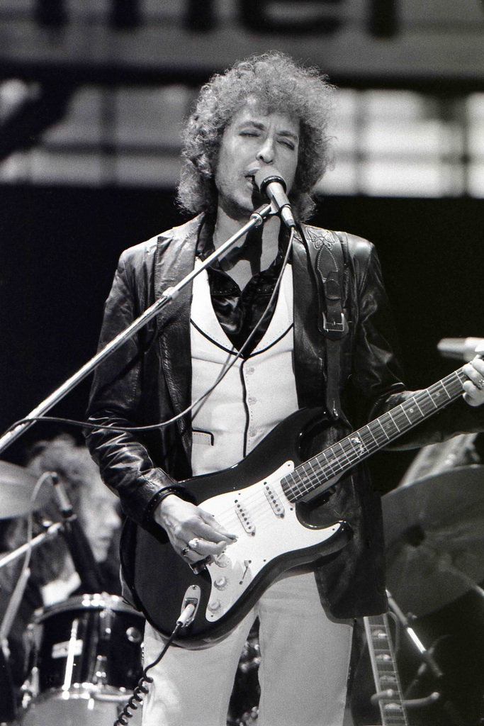 Bob Dylan Rotterdam De Kuip june 23 1978 by Chris Hakkens