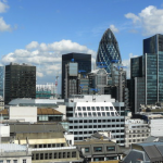 City of London by Peter Trimming via Wikimedia Commons