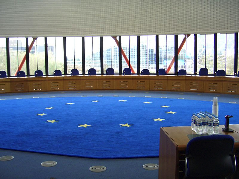 ECHR court room by Djtm at the German language Wikipedia