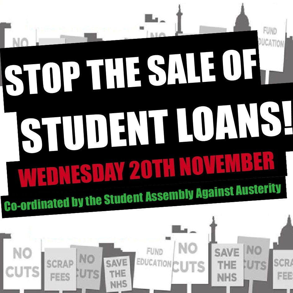 Stop the sale of student loans