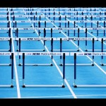 Hurdles by Phil Roeder from Des Moines, IA, USA