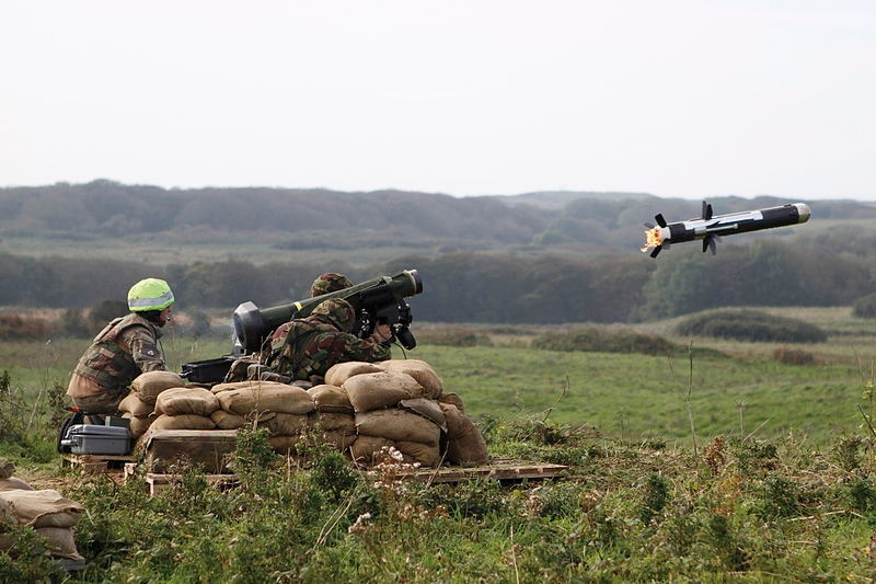 Javelin Missile Photo-SAC Lee Goddard:MOD