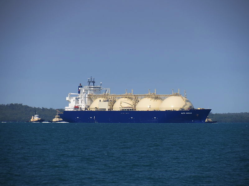 LNG Carrier by Ken Hodge from Darwin Autralia