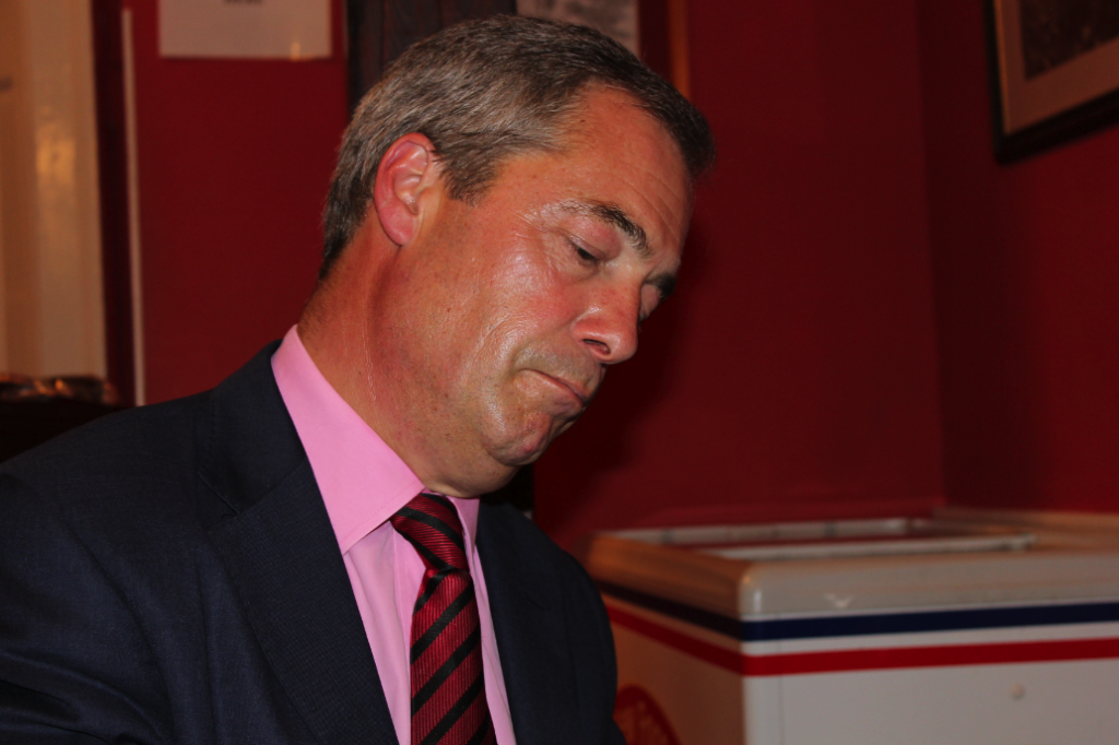 Nigel Farage by Jeff Taylor © The Economic Voice Limited