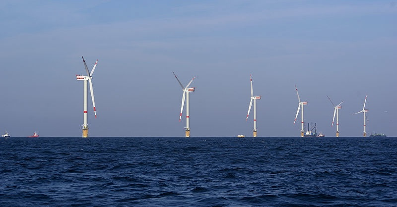 Offshore Wind Turbines by Hans Hillewaert