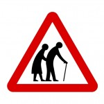 Old People Sign by Woodennature