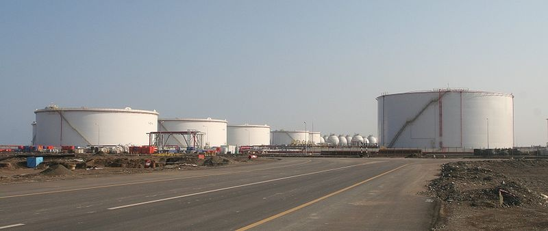Petrochemical tanks in Sohar Oman by octal