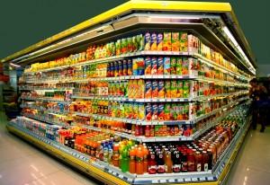 Supermarket Interior by Vladimir Kirakosyan