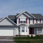 American Two story single family home (PD)