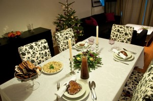 Christmas Dinner Table by Michal Osmenda from Brussels Belgium