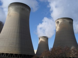 Drax Cooling Towers by Ian Cunliffe