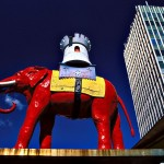 Elephant and Castle by Sue Wallace