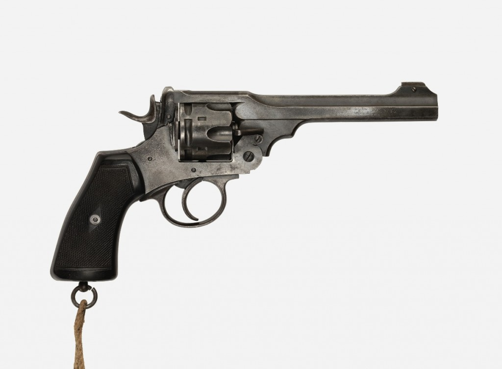 JRR Tolkien's First World War revolver (c) IWM