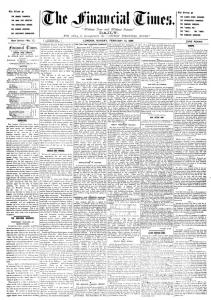 Financial Times Feb 13th 1888 (PD)