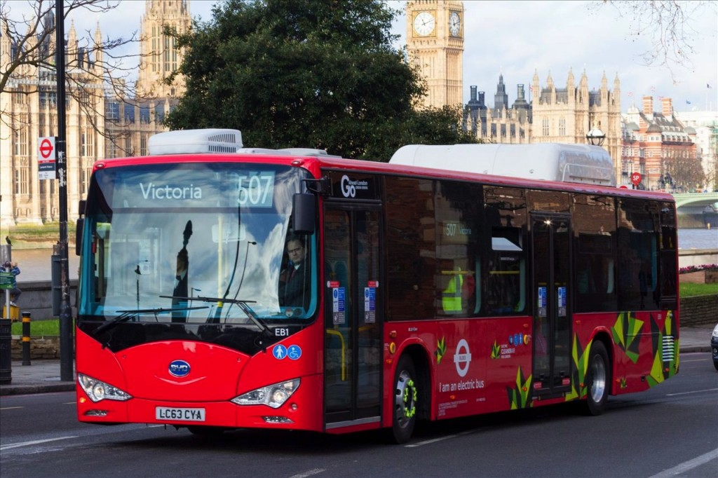 TfL Electric Bus