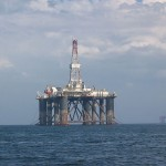 North Sea Oil Rig (PD)