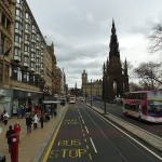 Princes Street Edinburgh by Fabio Veronesi