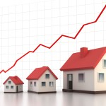 Rising house prices image