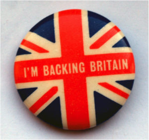 Backing Britain by Roger Green (PD)