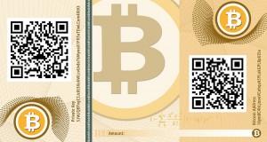 Bitcoin banknote by CASASCIUS