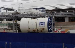 Crossrail Tunnel Boring Machine Ada by mattbuck