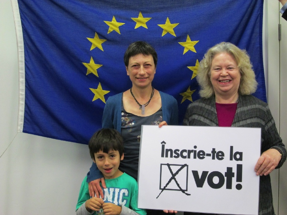 Green Party vote for MEP