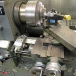 Lathe in Action by Andrew Magill from Boulder USA