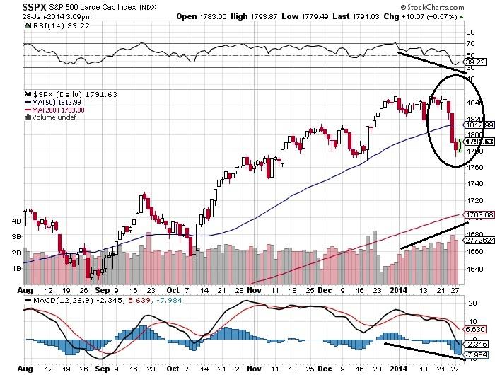 S&P 500 Large Cap Index Chart