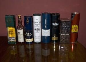 Scotch Whiskies by Chris huh