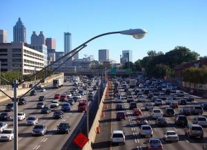 Traffic by Atlantacitizen at the English language Wikipedia