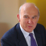 Vince Cable by Andrew Sales