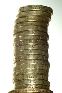 Pound Coins - FreeFoto.com