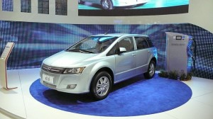 BYD e6 Car by anthonares