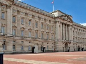 Buckingham Palace by Amandeep Singh Dhamrait