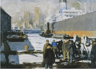 George Bellows Men of the Docks 1912 © The National Gallery London