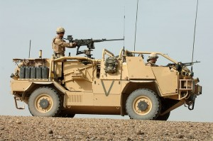 Jackal Armoured Vehicle by Cpl Ian Holding (OGL)