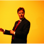 Nick Clegg by David Spender