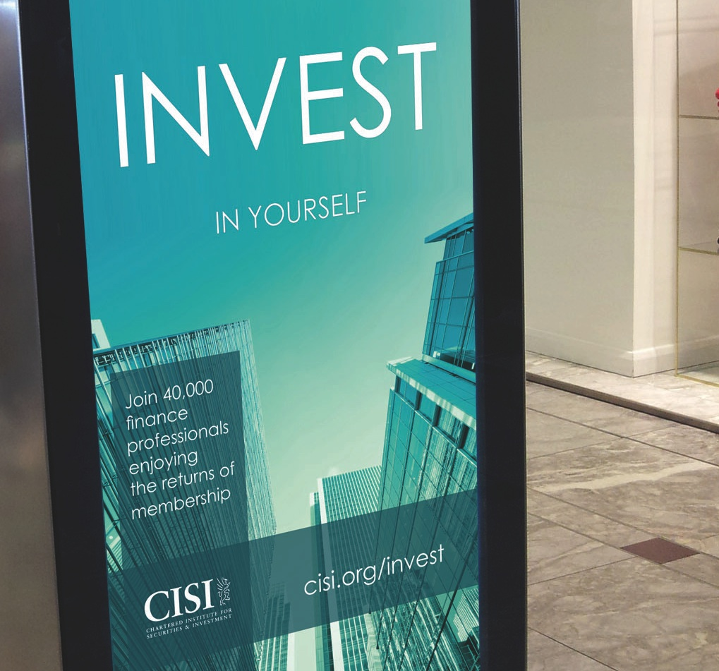 cisi announces new uk invest in yourself campaign the economic cisi invest in yourself ad
