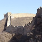 Great Wall of China by Saad Akhtar