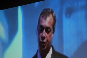 Nigel Farage on the Big Screen Spring Conference 2014
